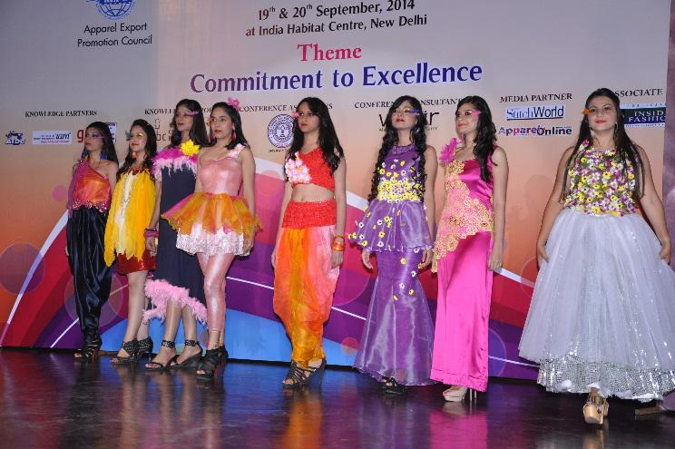 DRESS DISPLAY IN FASHION SHOW FORMAT BY STUDENTS OF LADY IRWIN COLLEGE, NEW DELHI